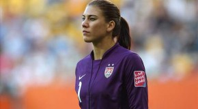 Hope Solo issued public warning for positive drug test, still eligible for Olympics