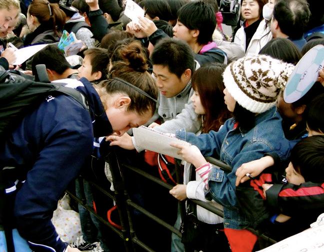 Sky Blue FC Japan Trip Amanda DaCosta