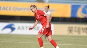 Kelly Smith says she's not ready to retire