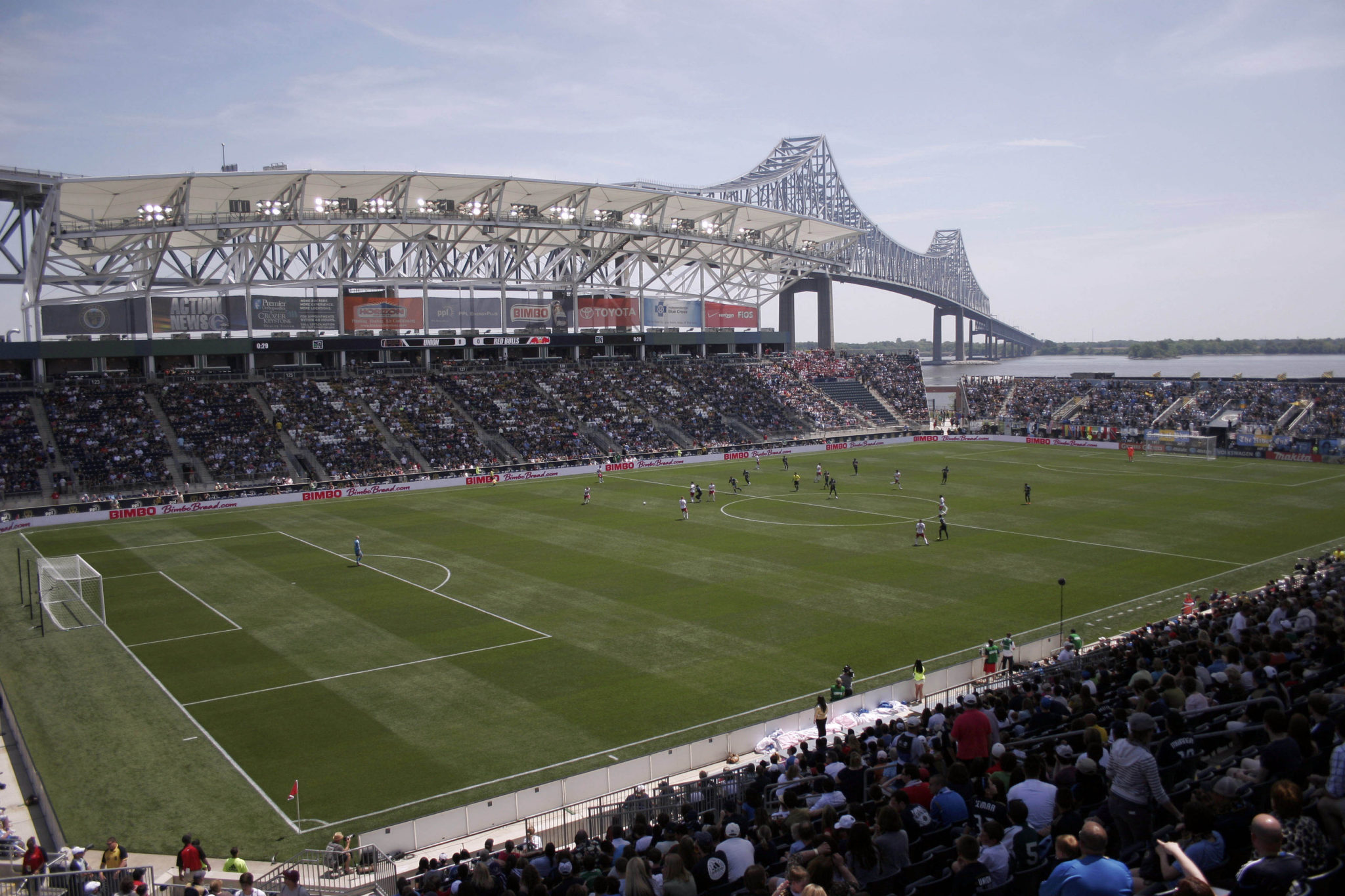 PPL Park, will host the semifinals, third-place match and final of CONCACAF Women's World Cup qualifying in October. (Credit: Joe Camporeale-US PRESSWIRE)