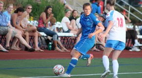 Late Simon strike gives Breakers share of first