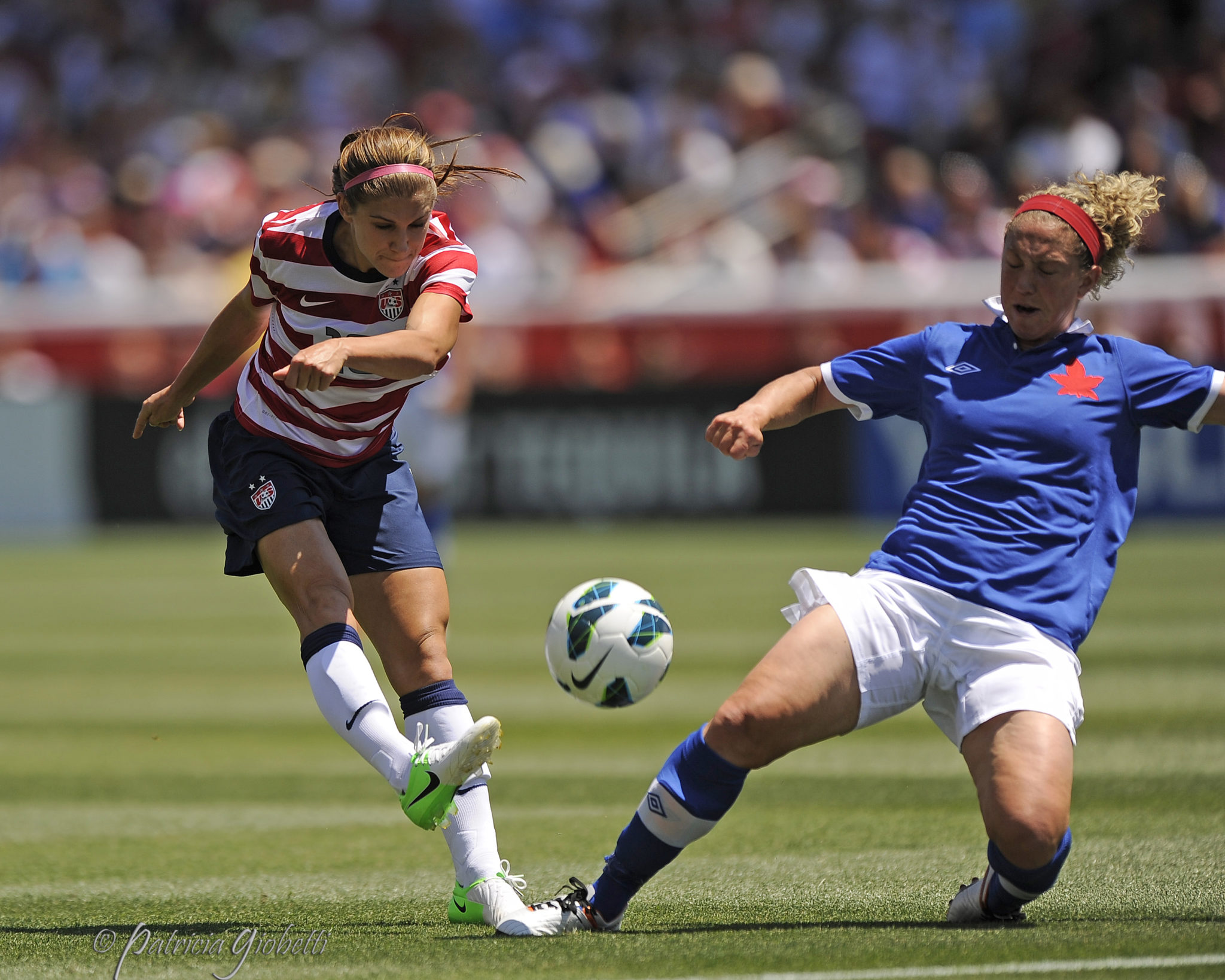 photo essay uswnt equalizer soccer alex morgan