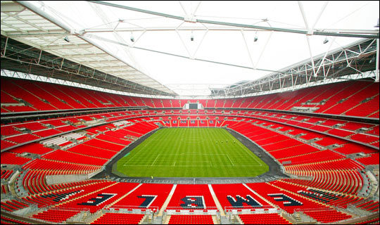 Wembley Stadium will be the stage for the FA Cup final next weekend for the second consecutive year.