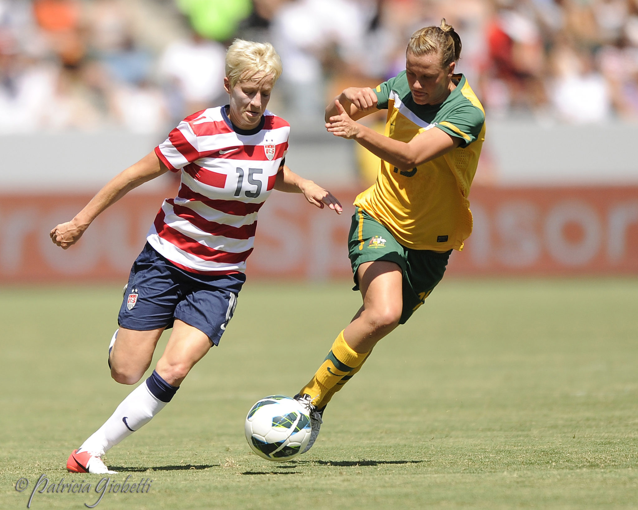 It took 28 attempts, but Australia finally defeated the USWNT. (Copyright Patricia Giobetti for The Equalizer)