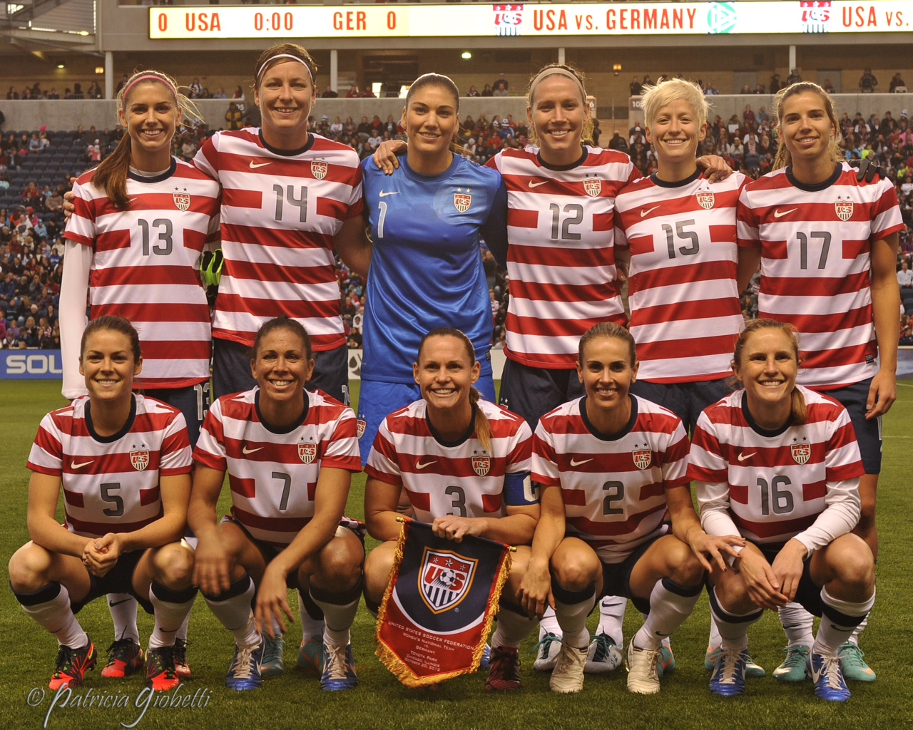 The USWNT will face Korea Republic twice in June. (Copyright Patricia Giobetti | http://www.printroom.com/pro/psgiobetti)