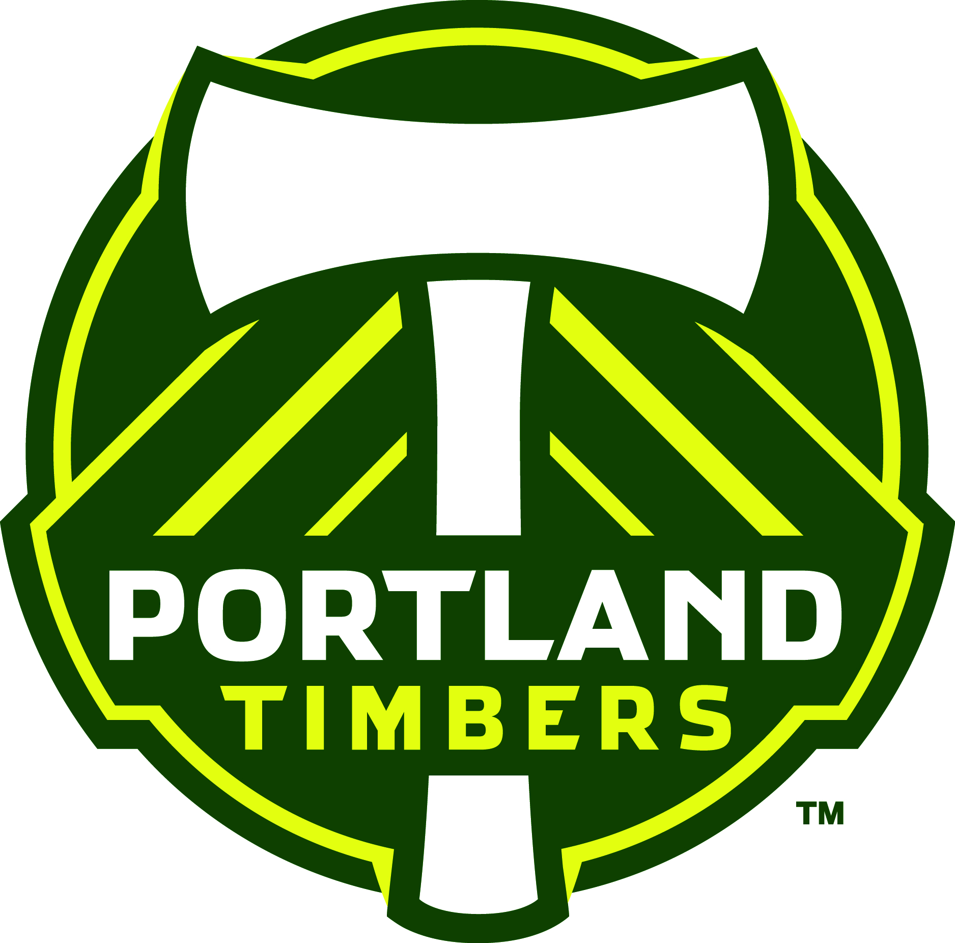 Portland Timbers ACCURATE CREST
