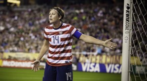 Wambach out Saturday, &#8216;concussion&#8217; still not uttered