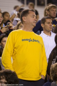 Former owner of WPS team magicJack Dan Borislow died on Monday. (Photo Copyright Steve Bruno for EqualizerSoccer.com)