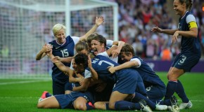 XI from '12: [No. 1] USWNT wins Olympic gold medal