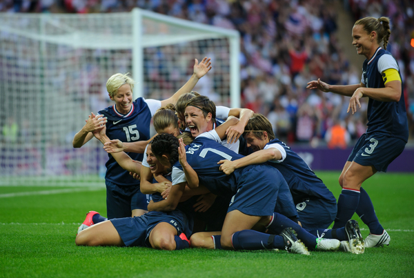 The U.S. women are three-time defending Olympic gold medalists and have won four of the five gold medals in women's soccer. (Getty Images)