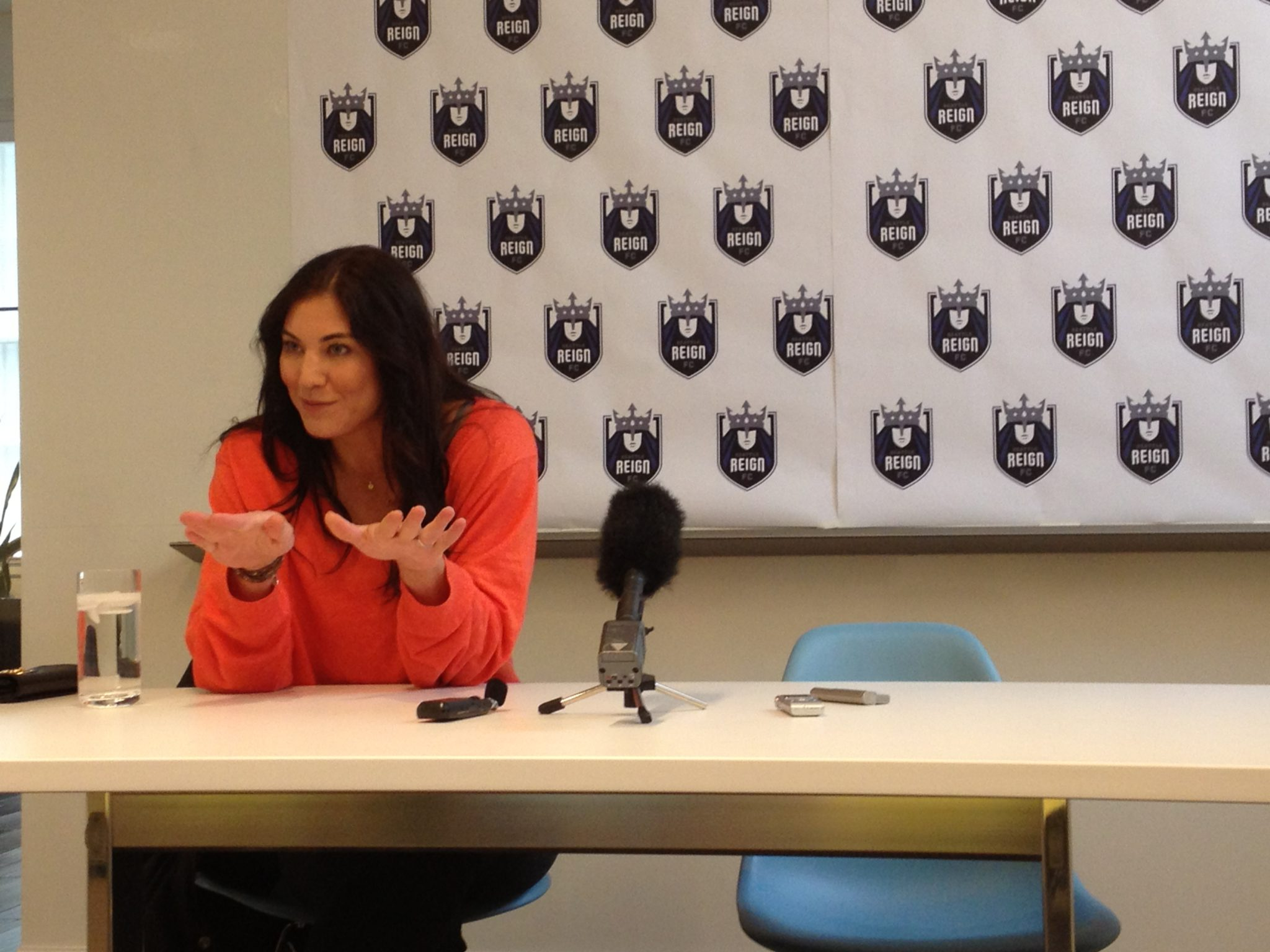 Hope Solo has four shutouts in six matches--all wins--for the Reign this season. (Photo: Liviu Bird/The Equalizer)