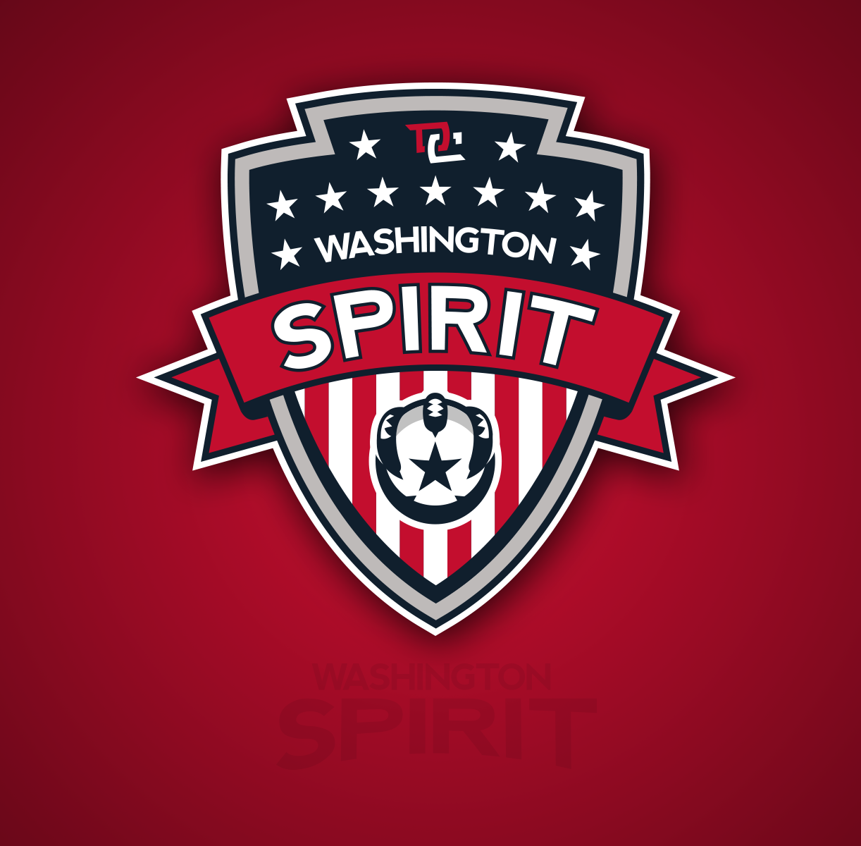 The new Spirit logo, designed in collaboration with freelancer Pete Schwadel.