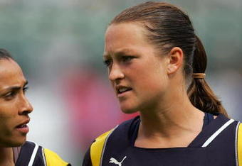Brittany Bock will again play for coach Jim Gabarra at Sky Blue FC. (Photo: Getty Images)