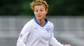 Angeli continues knee rehab, eyes return in NWSL