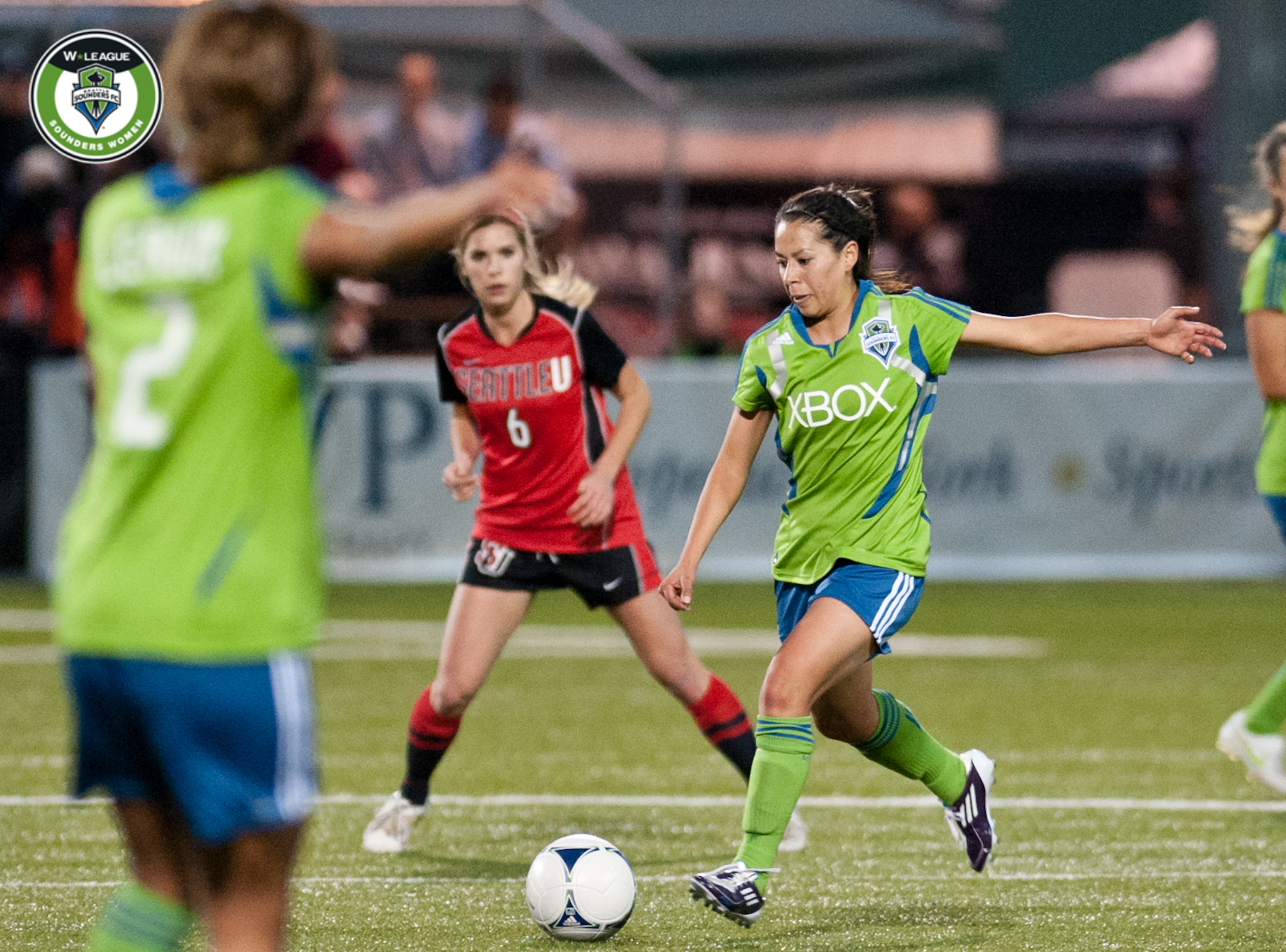 Veronica Perez will play for the Western New York Flash this season. (Photo credit: Jane Gershovich/SoundersWomen.com)