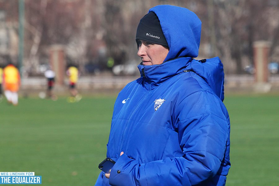Last week the Breakers fired Lisa Cole after five years with the team. (Photo copyright Meg Linehan for www.equalizersoccer.com)