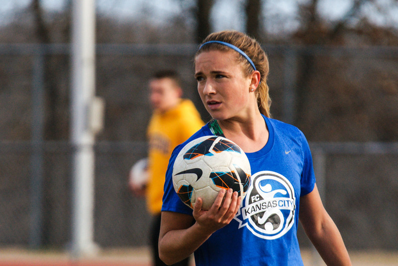 Kristie Mewis is now a member of Seattle Reign FC after being traded from FC Kansas City for Amy Rodriguez. (Photo Copyright Thad Bell for www.equalizersoccer.com | http://www.tpbphoto.com/)