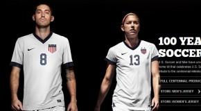 US Soccer unveils centennial uniforms