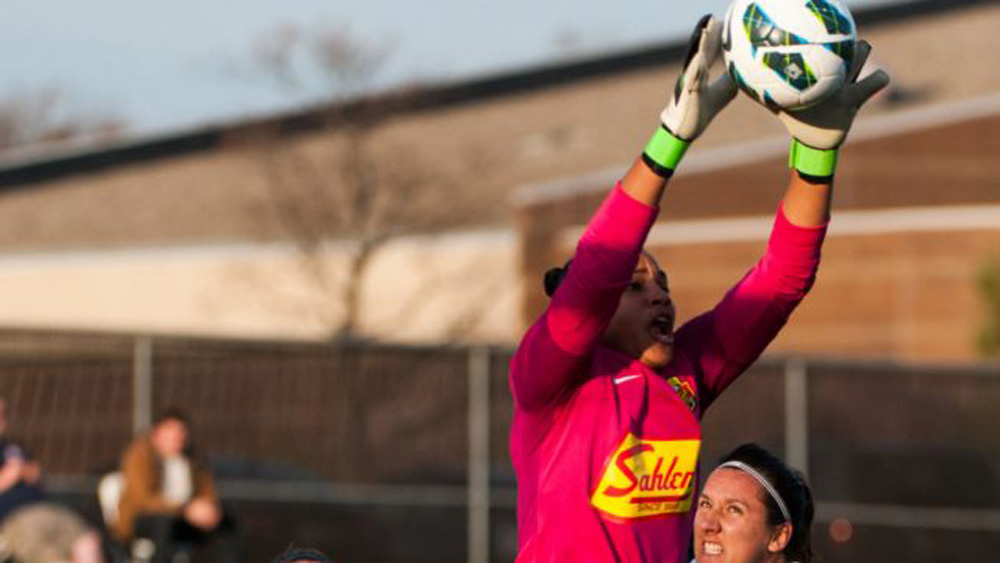 Adrianna Franch's season is over before it began.  The second-year keeper tore her ACL and will have season-ending surgery.