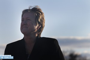 NWSL executive director Cheryl Bailey. (Photo Copyright Meg Linehan for The Equalizer)