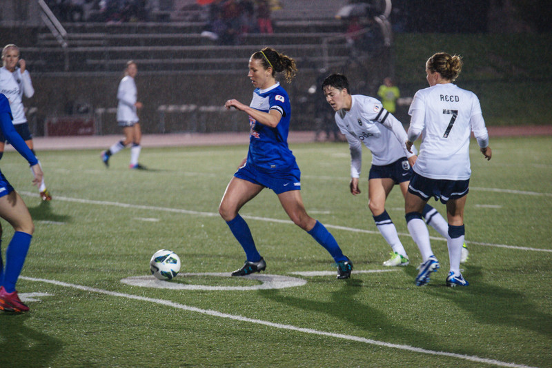 Lauren Holiday now has nine assists, most in NWSL. (Photo copyright Thad Bell)