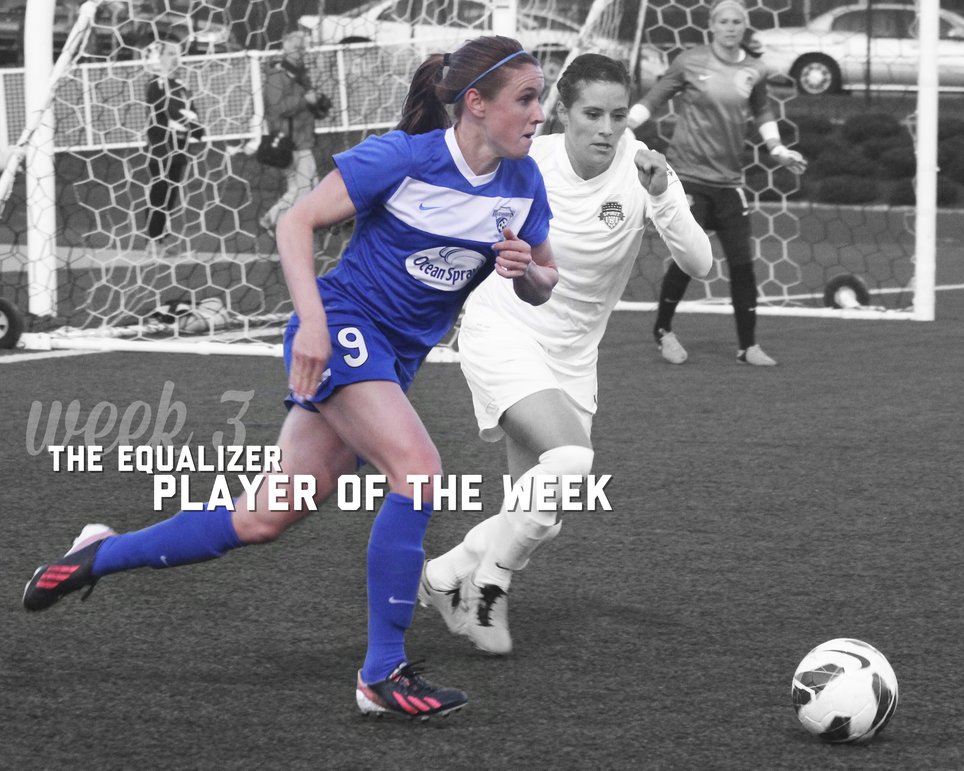Boston Breakers midfielder Heather O'Reilly is The Equalizer's Week 3 Player of the Week. She scored twice in a 2-1 win over the Flash. (Photo copyright Meg Linehan for The Equalizer.)
