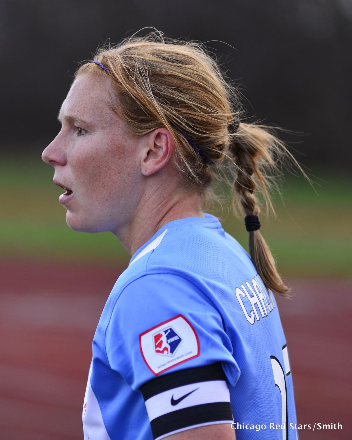 Lori Chalupny is back with the USWNT. (Photo courtesy Chicago Red Stars/Smith)