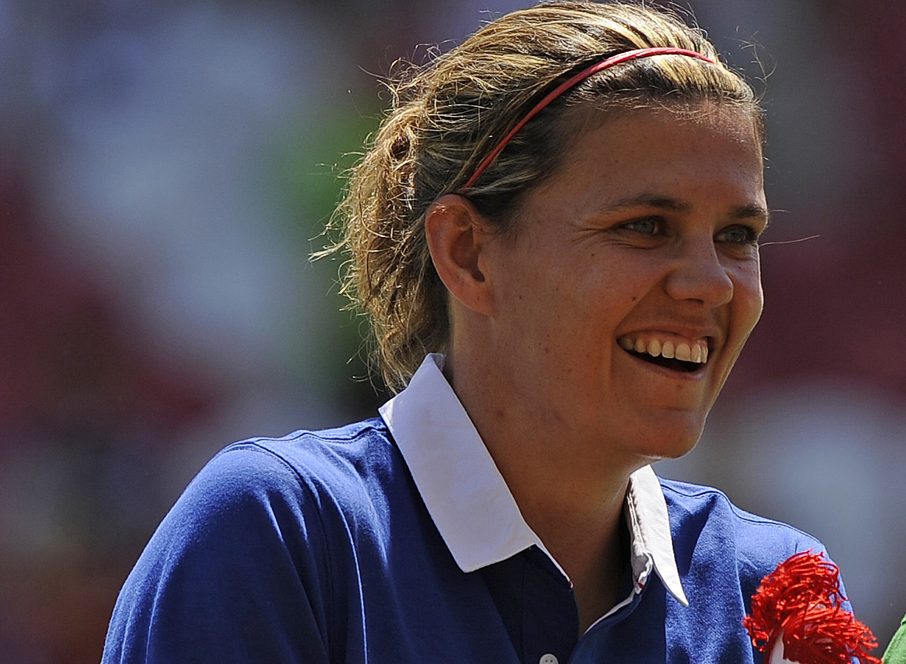 Christine Sinclair was Canada's 2012 athlete of the year. She'll be the focal point of Portland's star-laden quest of this year's NWSL crown. (Photo Copyright: Patti Giobetti | http://www.printroom.com/pro/psgiobetti)