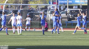 Breakers rout Red Stars 4-1 on Leroux hat trick