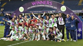 Wolfsburg upset Lyon to win Champions League