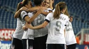 US women roll over Korea Republic; Wambach scores