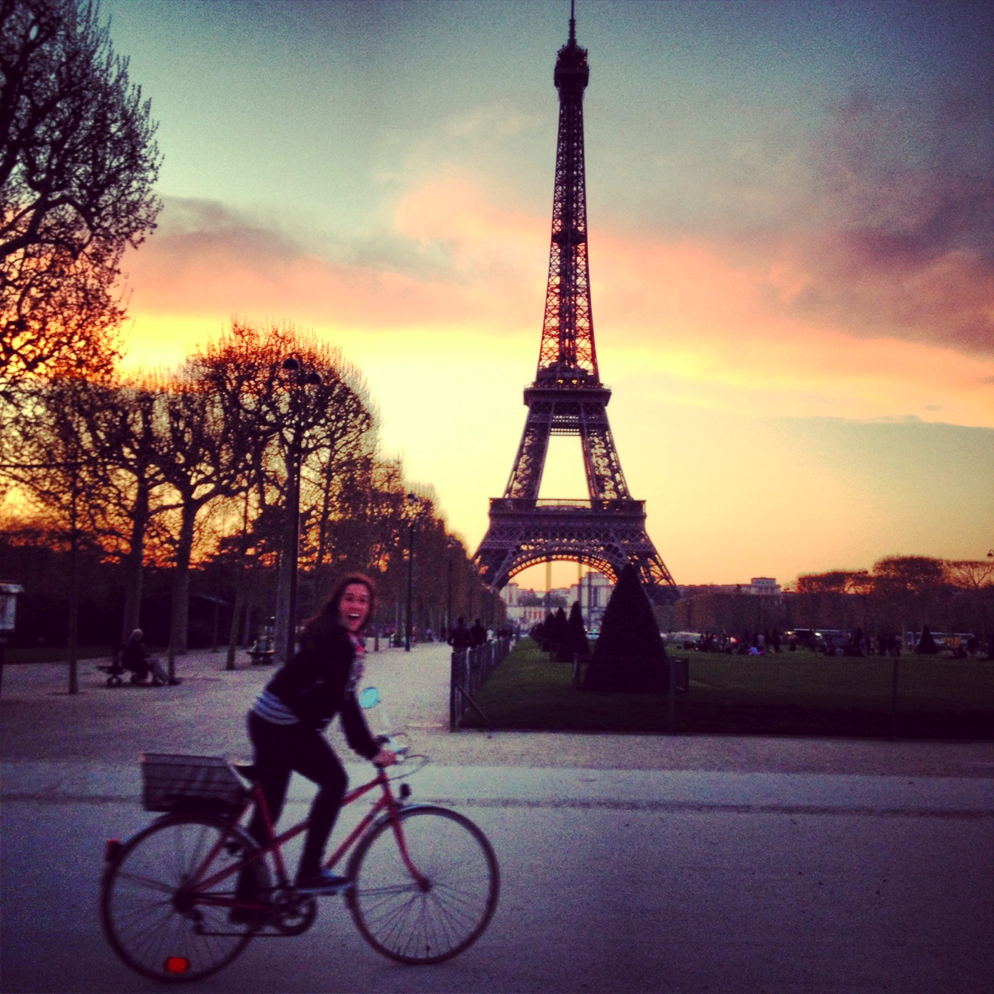 Amanda DaCosta took in Paris on a recent weekend off.