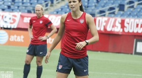 Alex Morgan out Sunday with left ankle injury