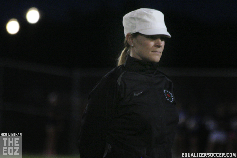 Cindy Parlow Cone will no longer be Portland Thorns FC coach due to personal reasons, according to a report. (Photo copyright Meg Linehan for The Equalizer)