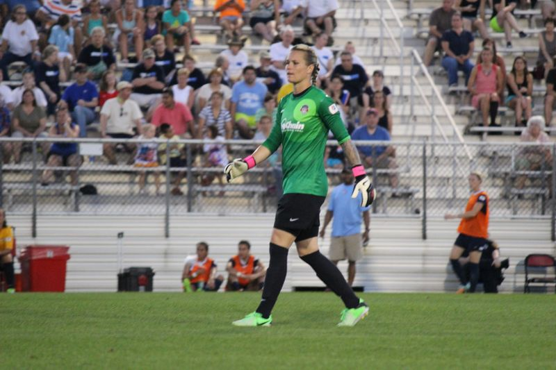 Ashlyn Harris is headed back to the Washington Spirit. (Photo Copyright Amanda McCormick | www.amandamccormick8.com)