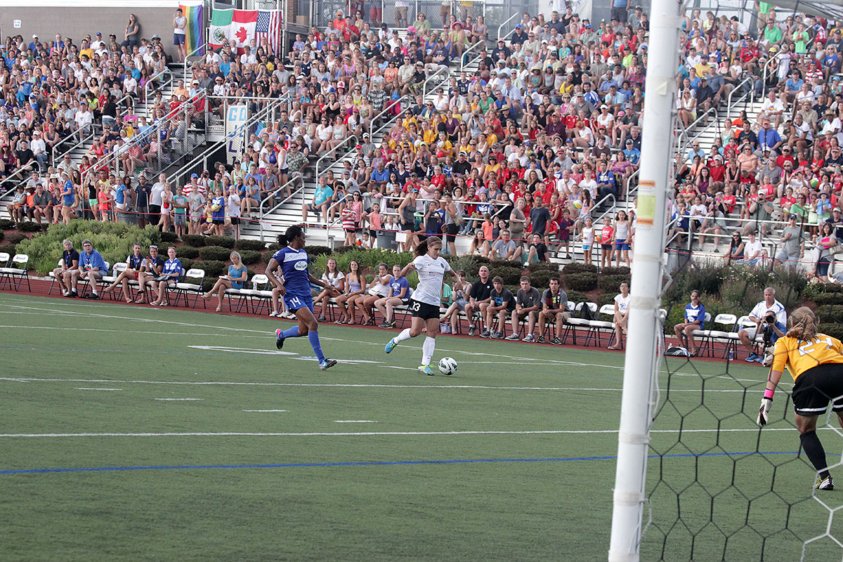 The Breakers had their second-largest crowd of the season on Sunday. (Photo Copyright Linehan Photography for The Equalizer)