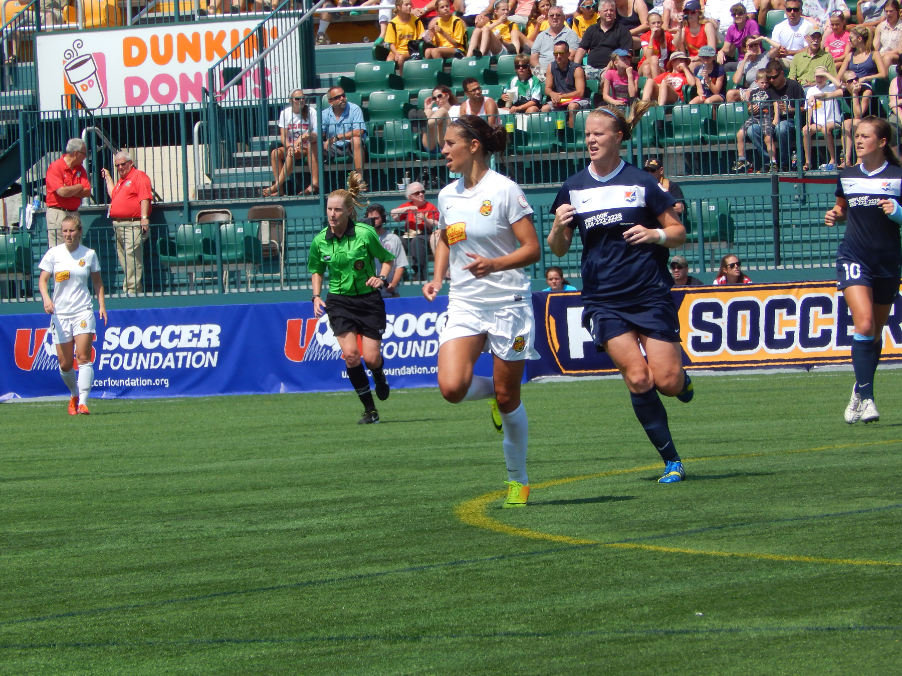 Carli Lloyd could again give Sky Blue FC trouble on Saturday. (Photo Copyright Danielle Lorenzo for The Equalizer)