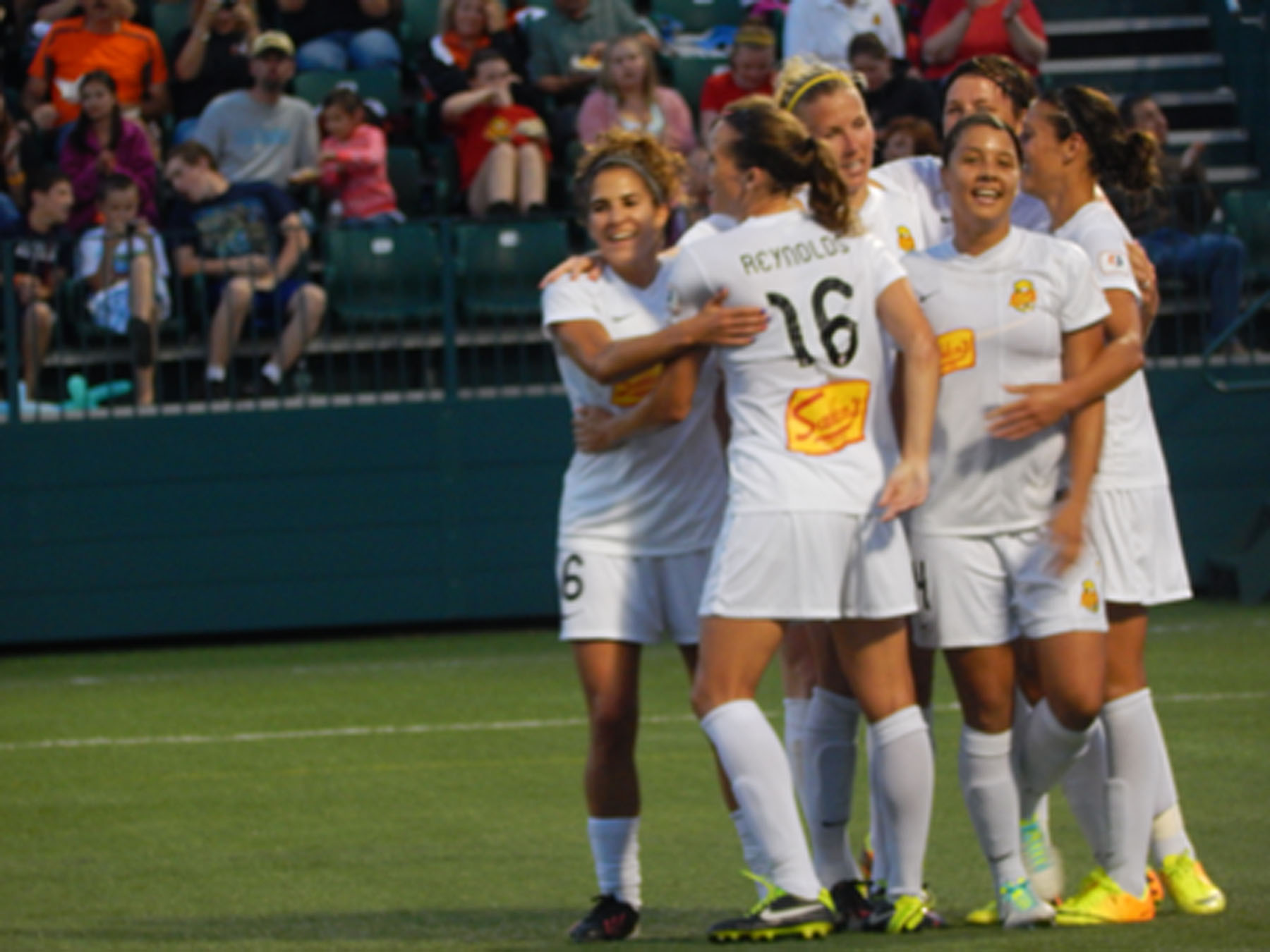 The Western New York Flash are the No. 1 seed in the 2013 NWSL playoffs.. (Photo Copyright Danielle Lorenzo for The Equalizer)
