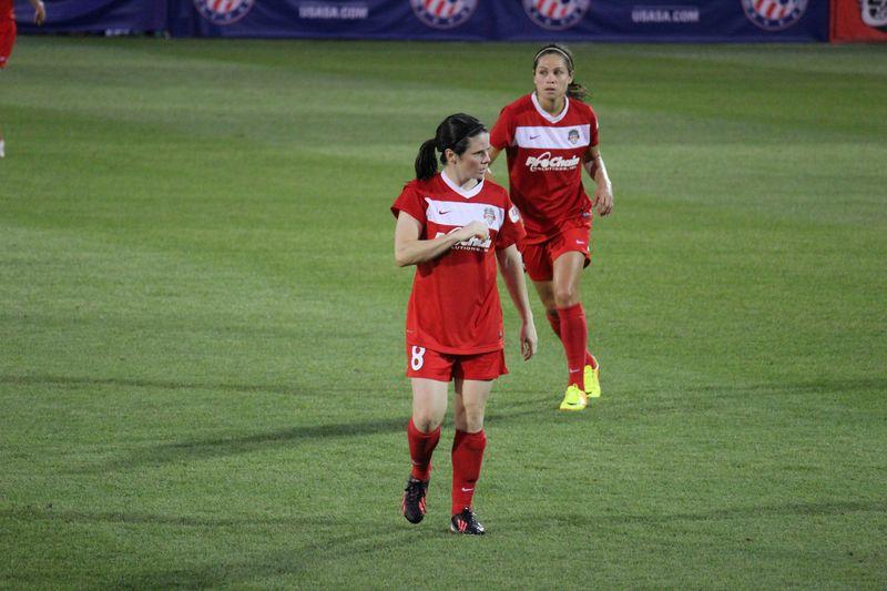Diana Matheson was Washington's best player in 2013. (Photo Copyright Amanda McCormick   www.amandamccormick8.com)