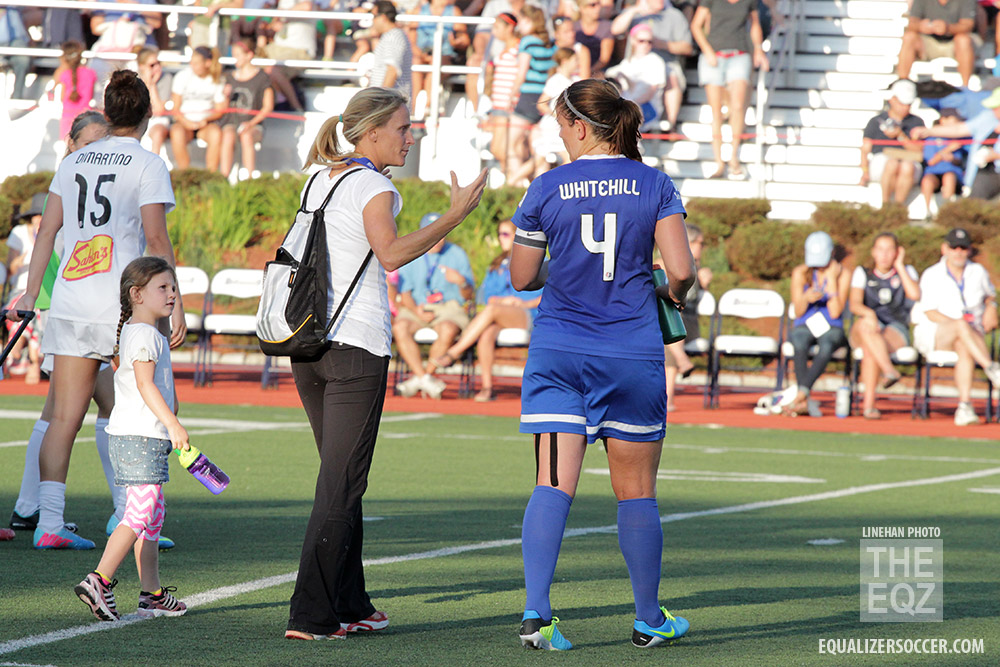 Cat Whitehill and the Breakers have a new but semi-familiar coach in Tom Durkin. (Photo Copyright Linehan Photography for The Equalizer)