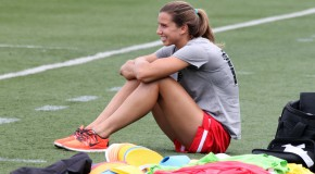 Heath starts, Morgan on bench for Thorns; Zerboni on bench for Flash