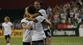 Leroux brace lifts US women past Brazil, 4-1