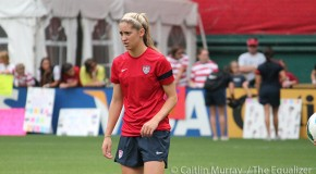 Youngster Morgan Brian showing confidence with USWNT