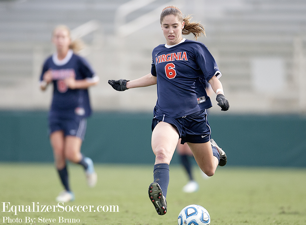 Morgan Brian and Virginia have yet to lose as they eye their first College Cup appearance since 1991. (Photo Copyright Steve Bruno for The Equalizer)