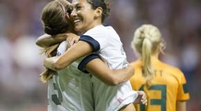 US women cruise past Australia, 4-0 (highlights)