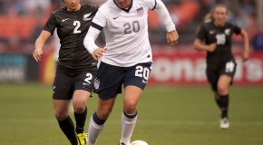 Wambach named USSF's female athlete of year