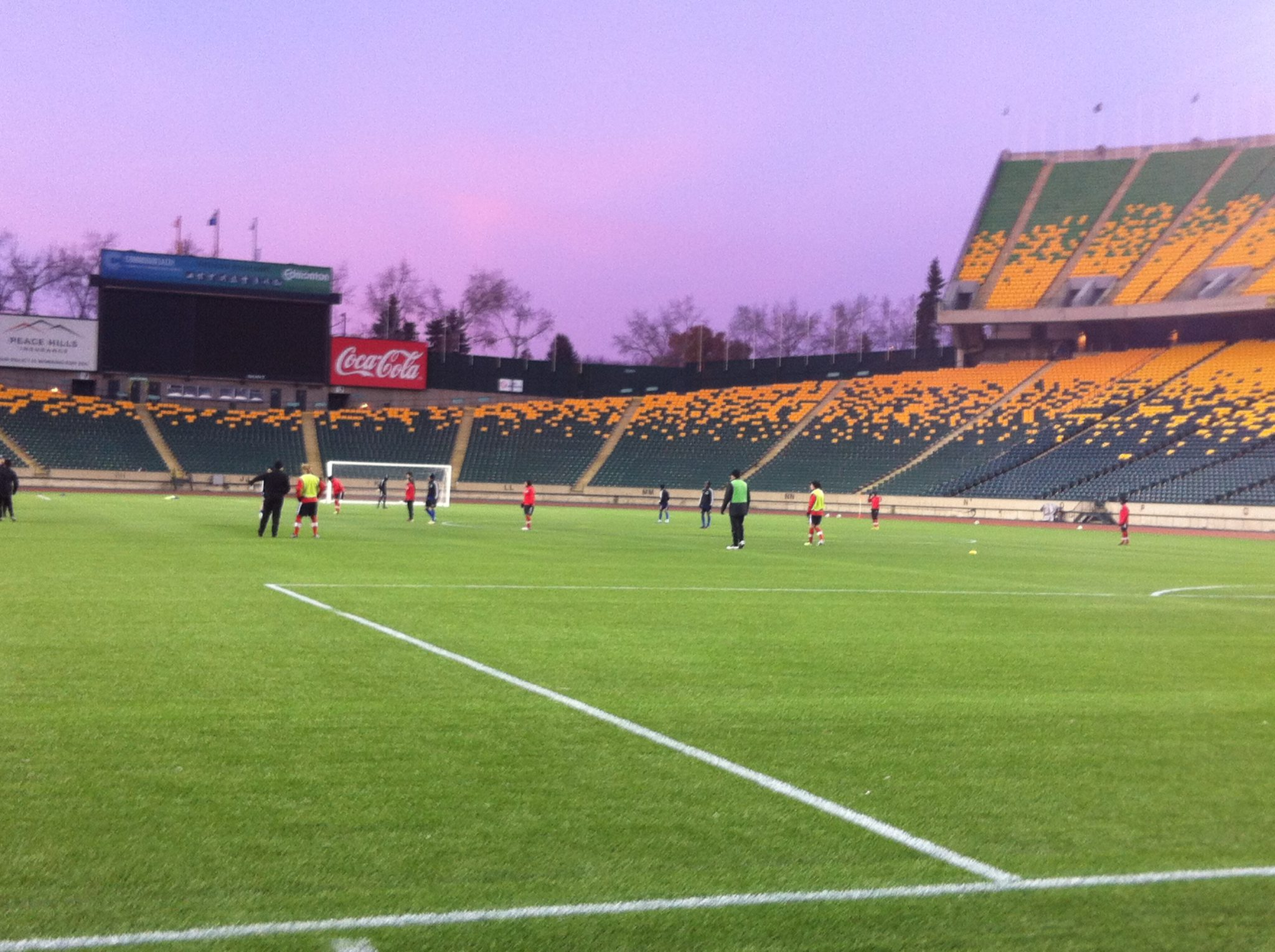 Edmonton Commonwealth Stadium (pictured) is one of six venues scheduled to use artificial turf at next year's Women's World Cup. (Photo Copyright Harjeet Johal for The Equalizer)