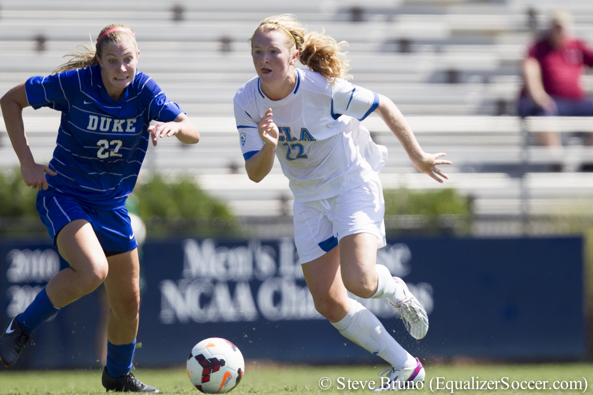 Samanta Mewis and UCLA are headed to the College Cup. (Photo Copyright Steve Bruno for The Equalizer)