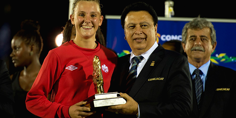 Canada will have a tough time getting out of Group B at the U-17 Women's World Cup. (Photo: CONCACAF.com)