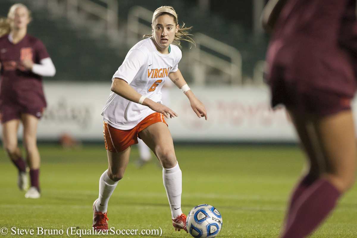 Morgan Brian, the 2013 MAC Hermann Trophy winner, stood out in her first start for the United States. (Photo Copyright Steve Bruno for The Equalizer)